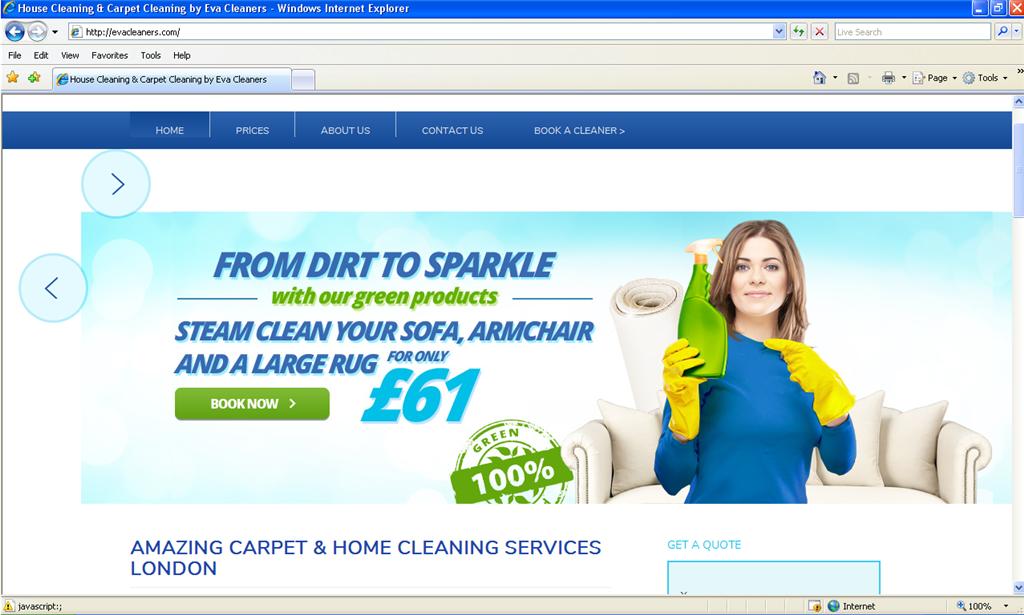 My website looks broken - only on Internet Explorer ...