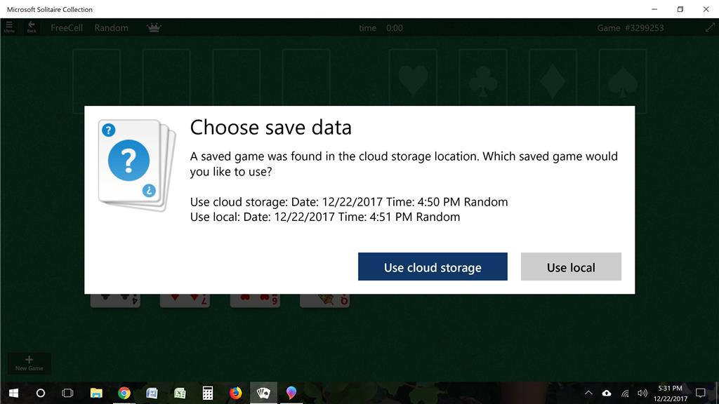 Turn off cloud storage - Microsoft Community