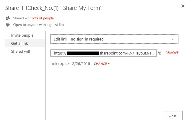browser enabled form opening in xml format for guest link