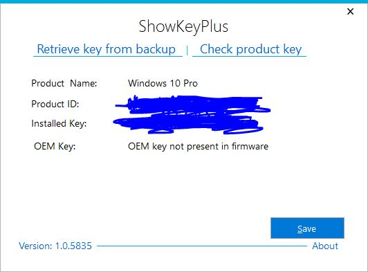 how to get my windows 10 product key dell