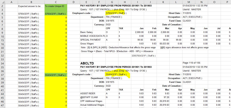 Excel - To generate unique ID - Microsoft Community