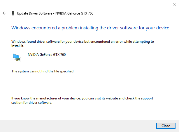 Windows/INF related? - Device Manager