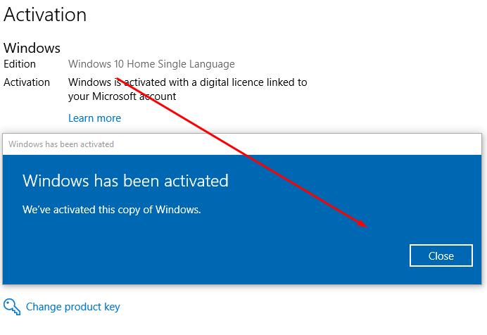 windows 10 home single language upgrade to windows 10 pro
