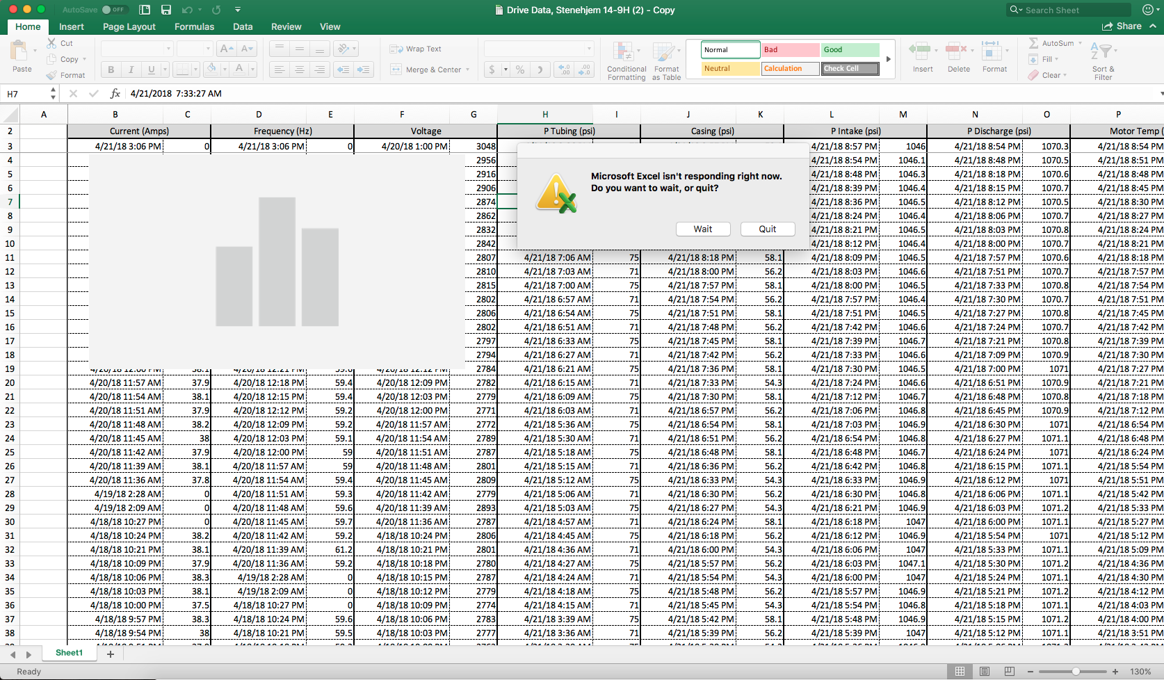 Charts Crashing Excel for Mac - Microsoft Community