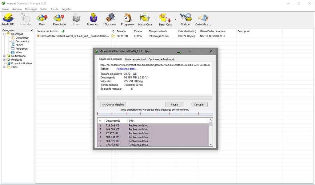 Windows 10 - Error al descargar gears of war 4 de la tienda \