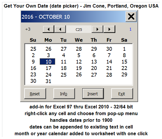 how do i install the date and time picker on a user form in