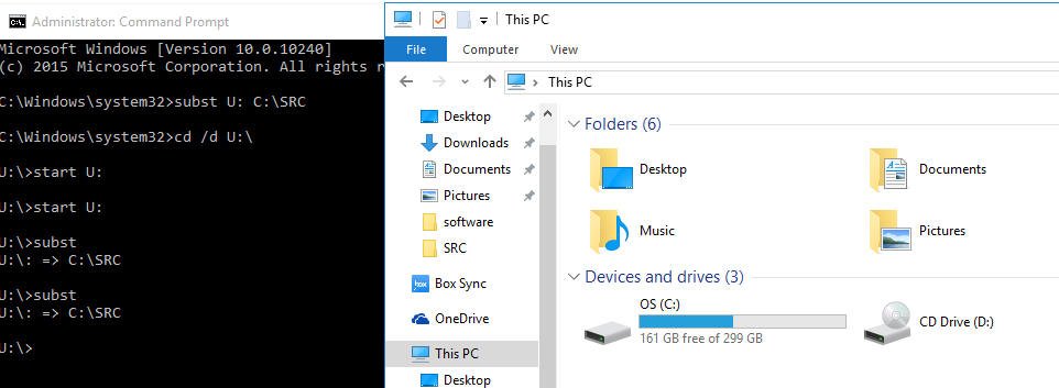 Is it impossible to run file explorer as administrator under