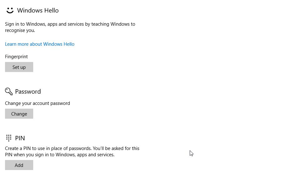 Windows 10 PIN Not Working  - Microsoft Community