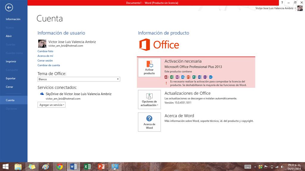 Microsoft Office Professional Plus 2013 Ha Caducado Microsoft Community