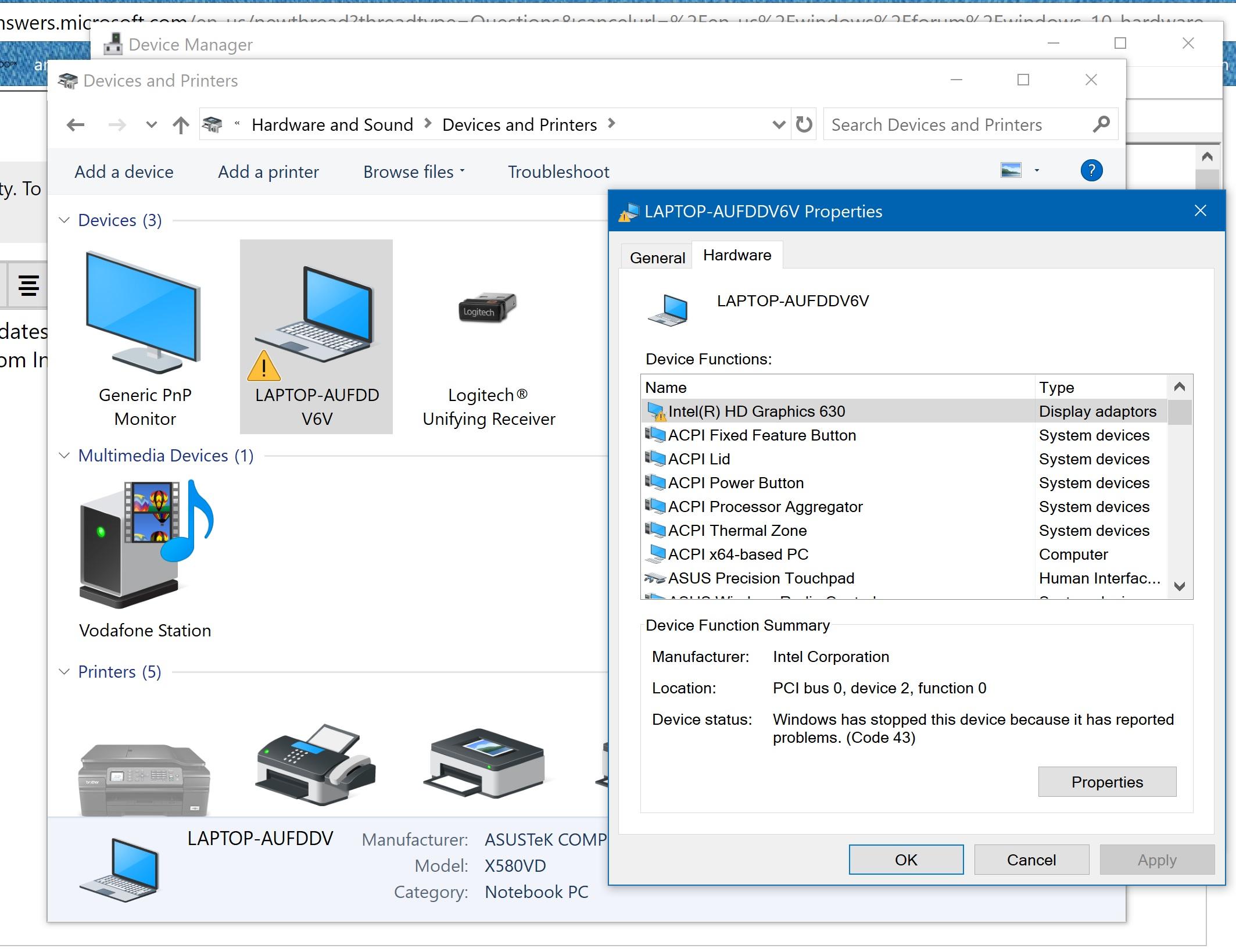 intel hd graphics driver 630