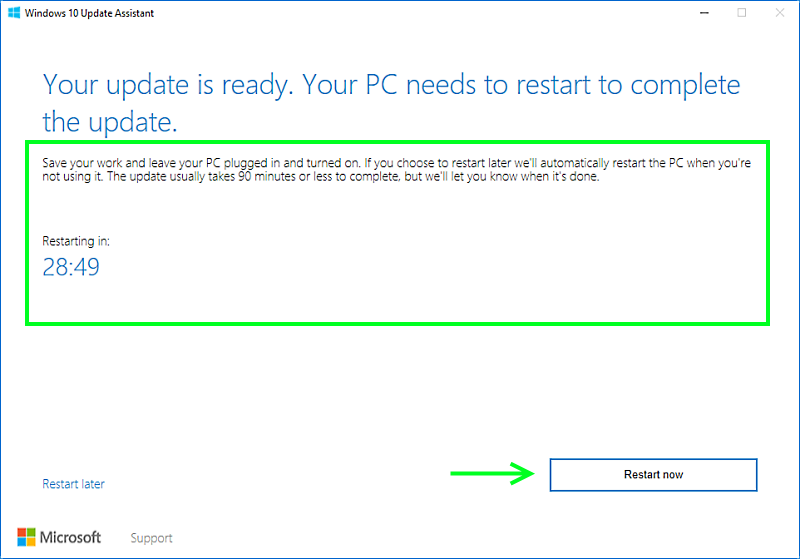 permanently disable windows 10 upgrade assistant