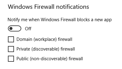 Windows 10 Creator's Update and Windows Firewall - Microsoft