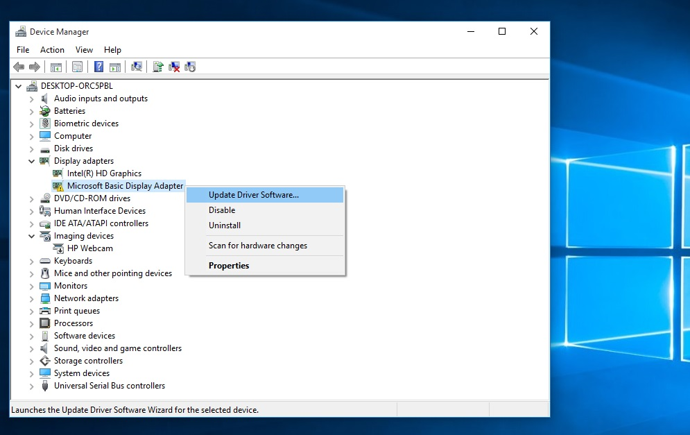 AMD Switchable Graphics not working in Windows 10 (HP