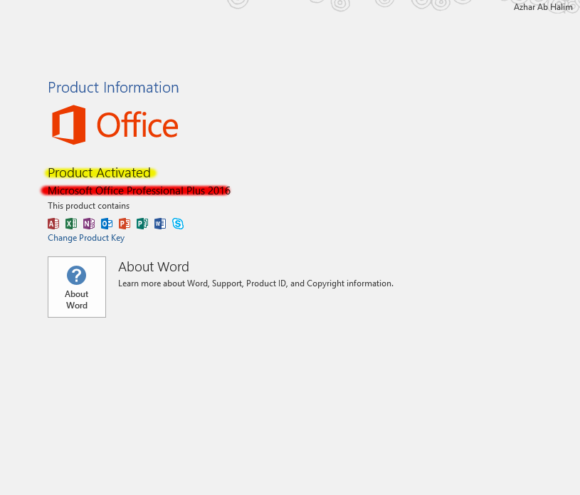 how to activate microsoft office word in windows 10