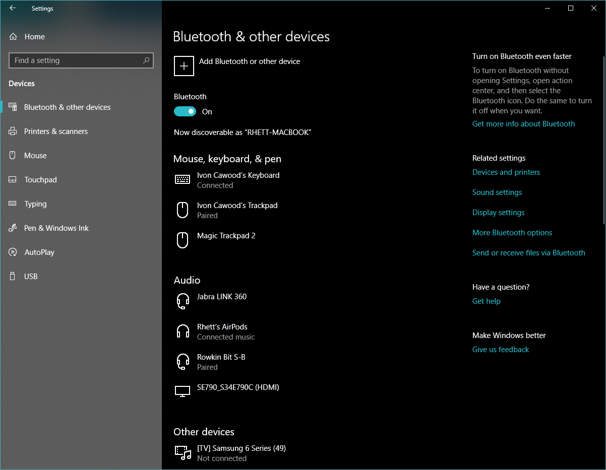 Headphone - Headset microphone not working on Windows 10
