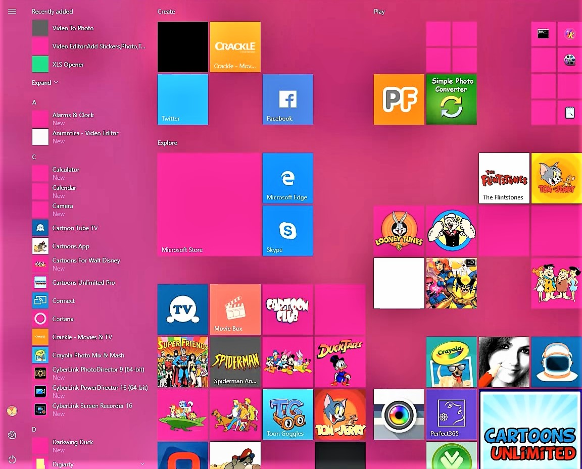 my windows apps are going blank - microsoft community