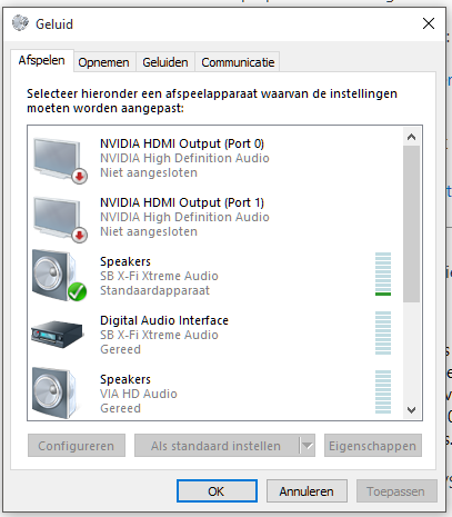 Could the daily Win 10 lockups be caused by creative sound