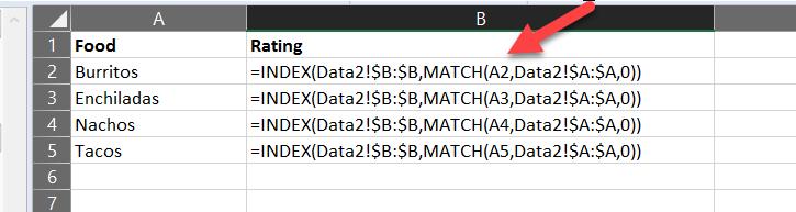 INDEX + MATCH Breaks When Sorting - Microsoft Community