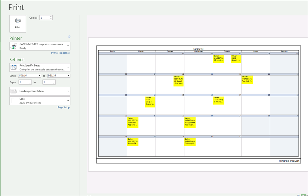 ms project calendar view truncates text in tasks