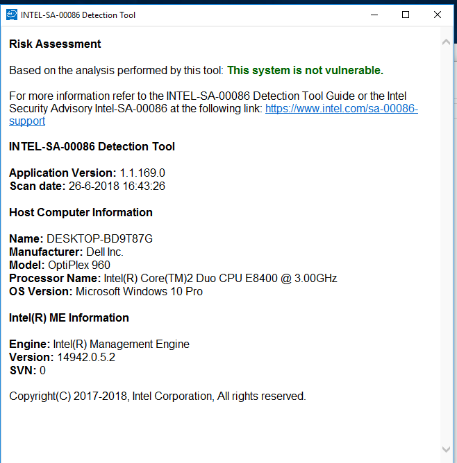 Intel Corporation driver update for Intel(R) Management
