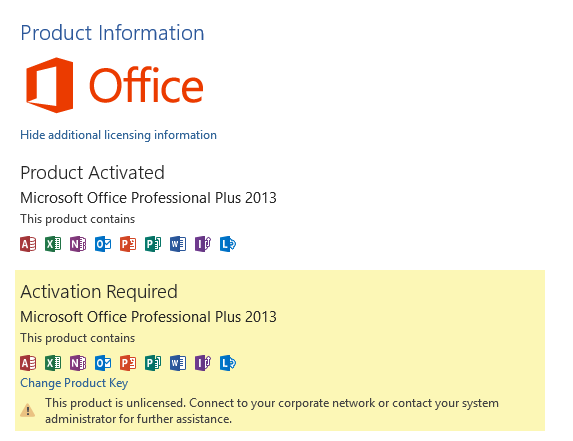 ms office standard 2013 product key