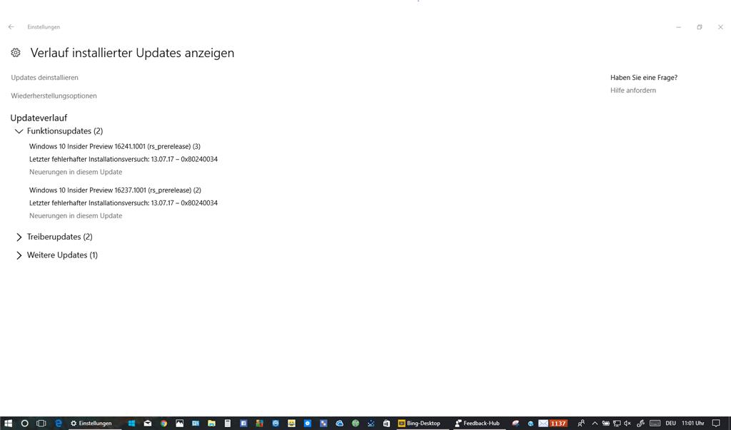 Stillstandcode System Service Exception. Fehlerursache: win32kbase.sys