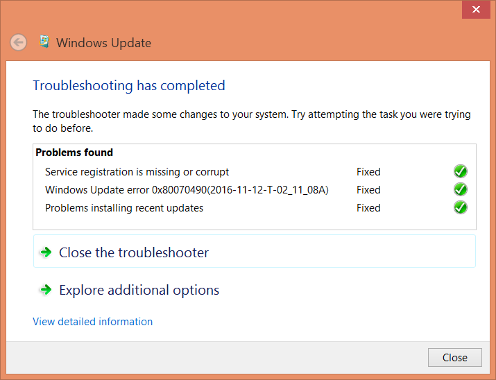 windows update will not work in windows 8 1 [SOLVED] - Microsoft