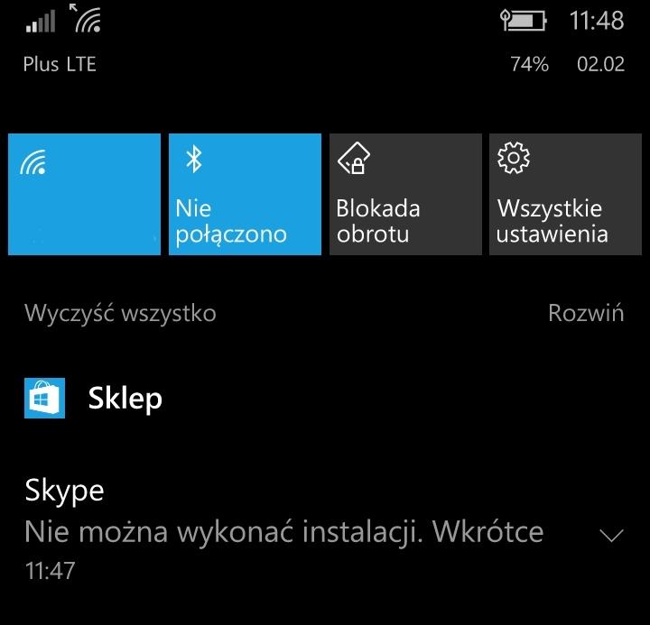 Probleme installation skype windows 8