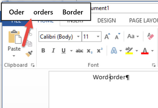 Turn off spelling suggestions in the top left corner of word 2013 corner of the word window i tried clicking these away i searched the internet for hints i looked through the options i was not able to find a way to ccuart Images