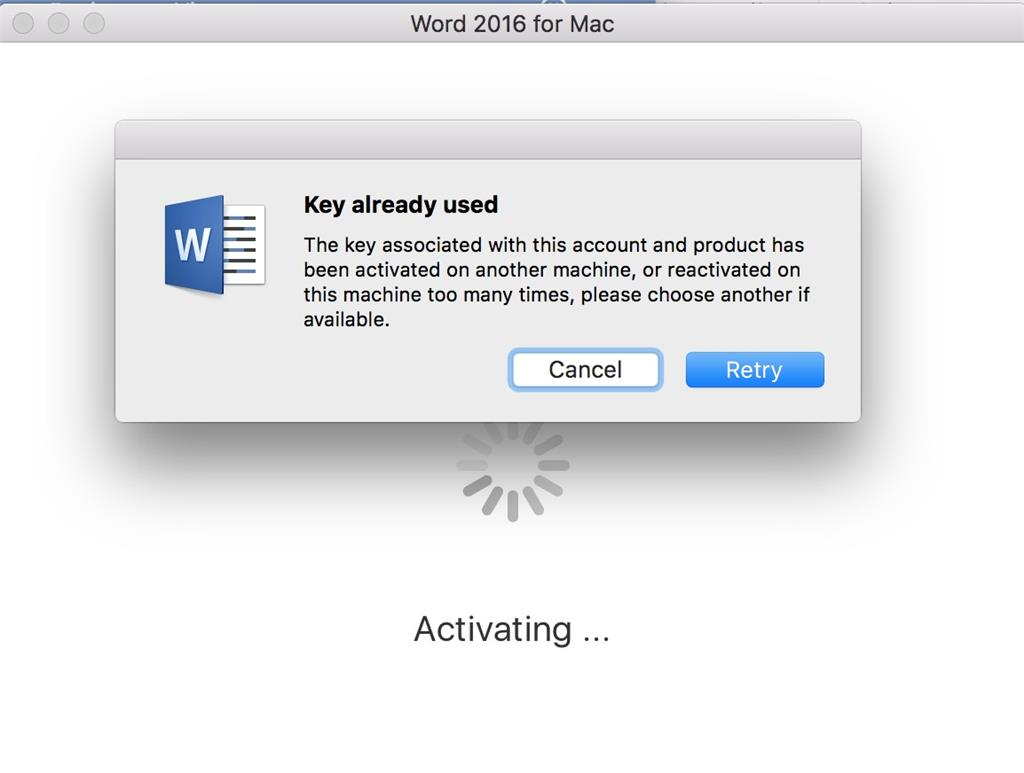 ms office 2016 activation key for mac