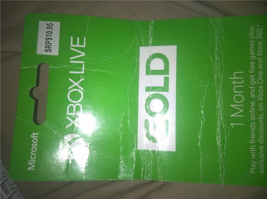 I mistakenly bought an Xbox Live Gold card I don't need  How do I