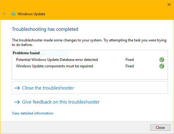 Windows Update Fixit >> Unable To Check For Updates In Windows 10 Microsoft Community