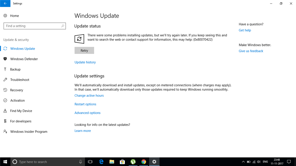 Windows license will expire soon in windows 10 professional