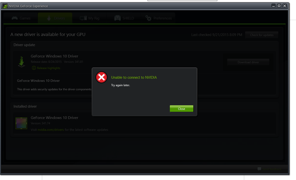 how to download nvidia drivers