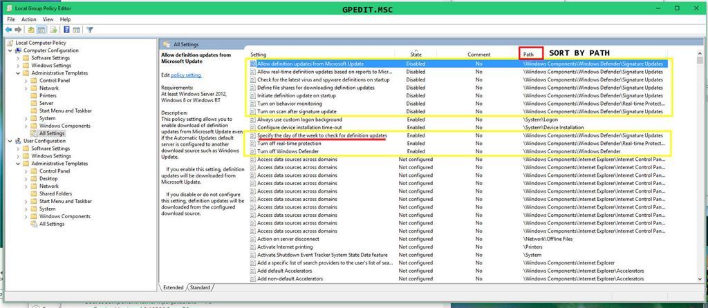 Definition Update for Windows Defender - KB2267602