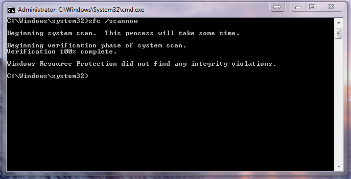 Windows 7 Professional - Exception code: 0xc0000005 on multiple