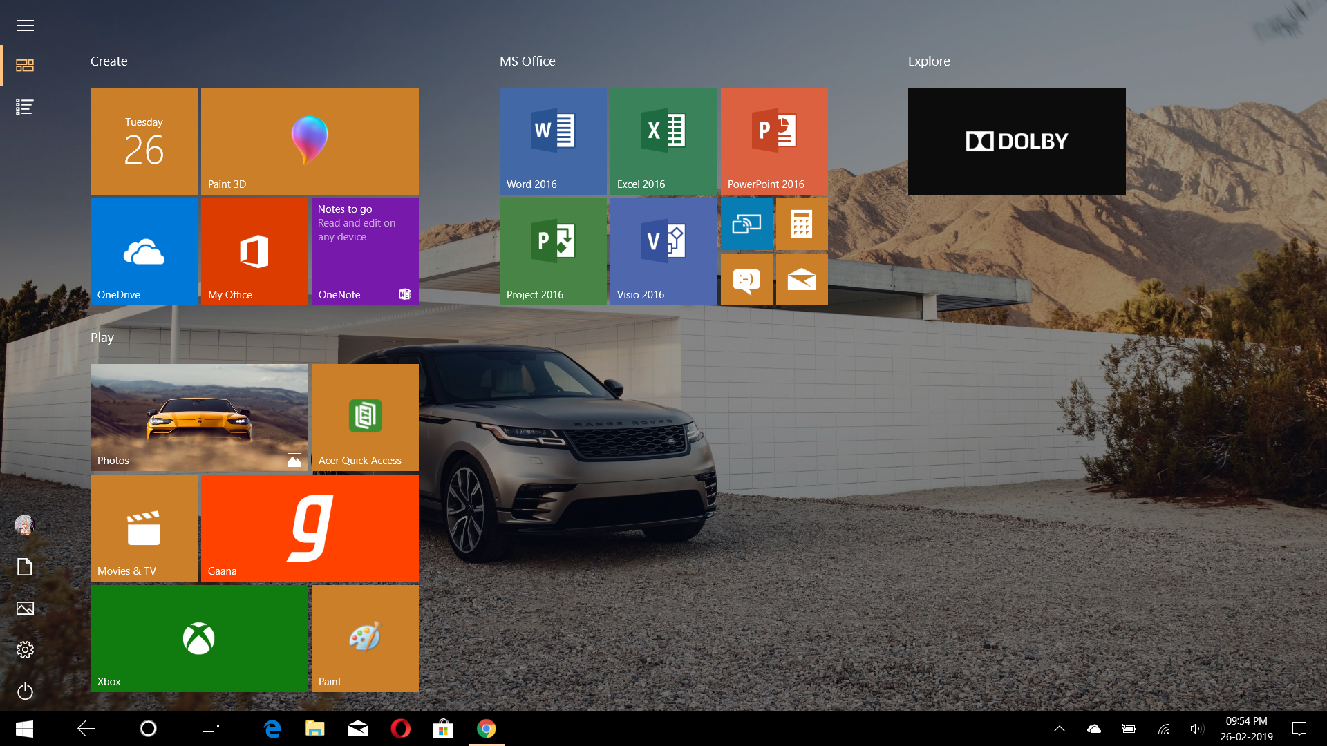 I have moved to some kind of new windows 10 or what