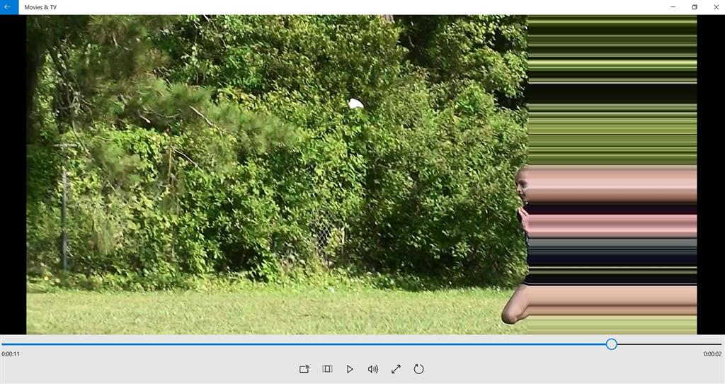 Horizontal Lines Appear During Video Playback from Some Sources