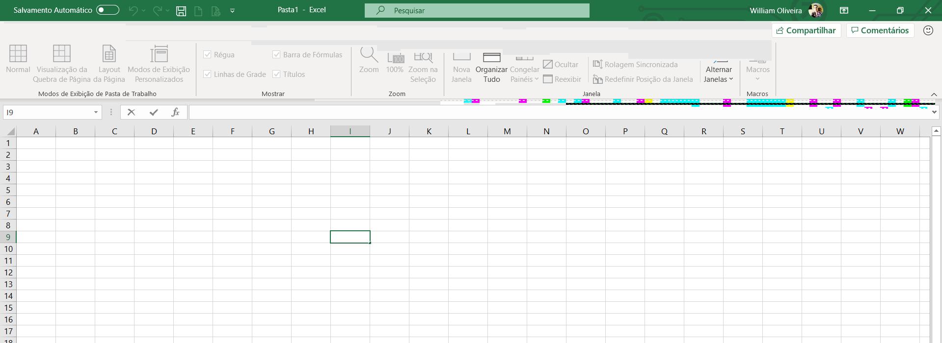 Erro na versão nova do Excel ao digitar ou movimentar uma ...