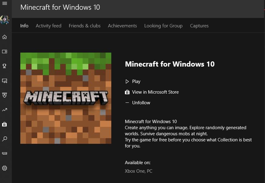 Windows 10 Edition of Minecraft Crashes on Start - Microsoft