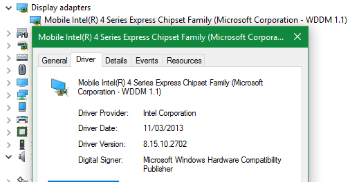 Mobile intel r 4 series express chipset family drivers for mac.