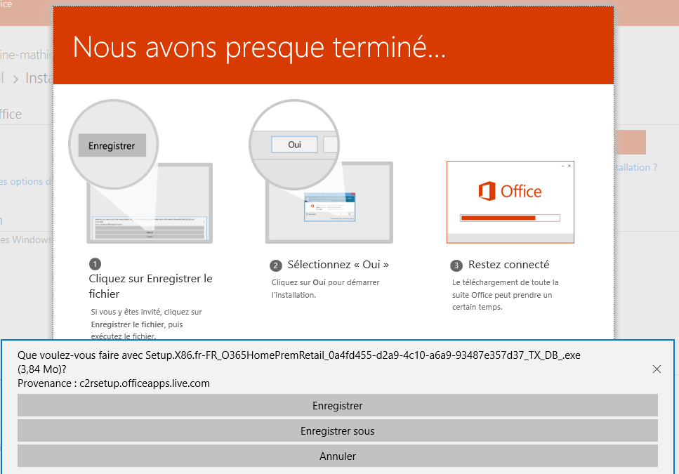 Impossible d 39 installer office 365 personnel microsoft community - Installer office 365 personnel ...