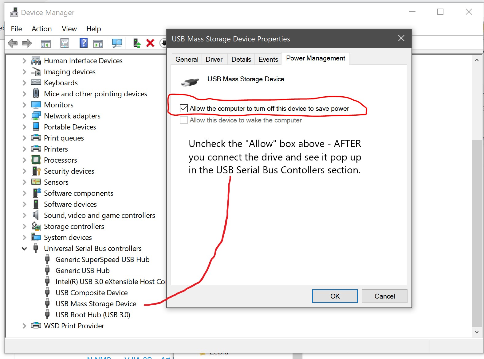 Resolve Apricorn Usb 3 0 Disconnecting In Windows 10 Surface Microsoft Community