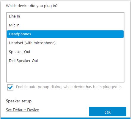 Dell Audio - Blank Screen - Microsoft Community