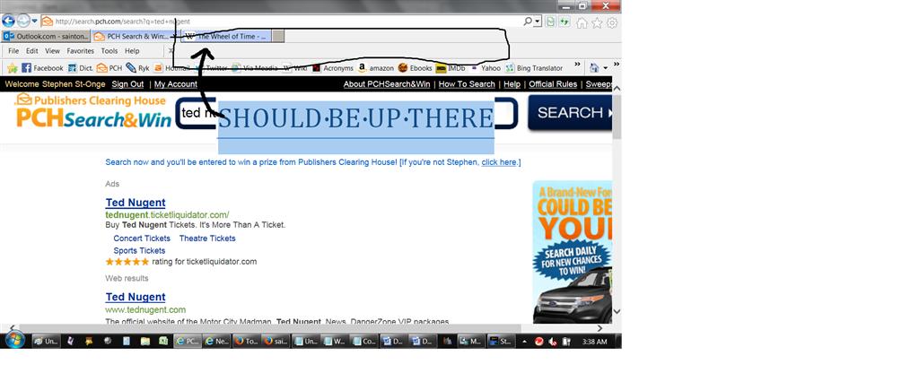 Google Toolbar missing in Internet Explorer - Microsoft Community