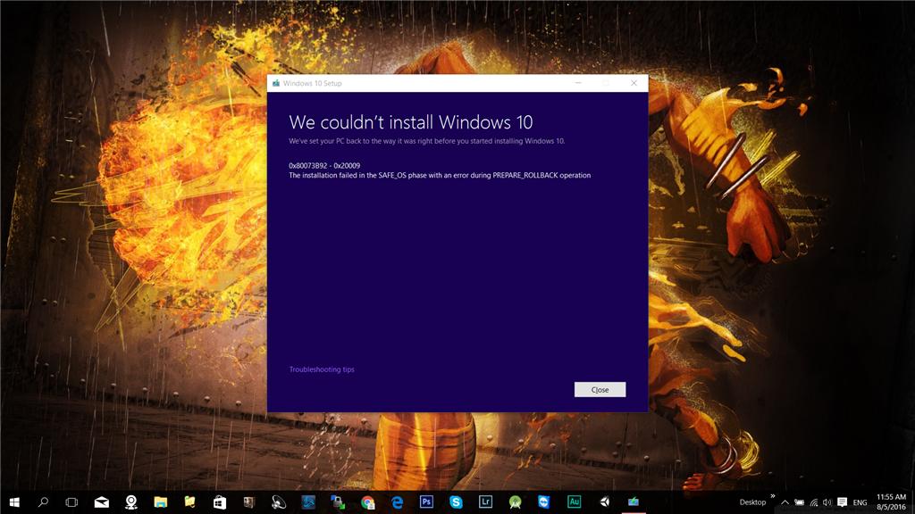 Can\u0027t update windows 10 with Media Creation Tool - Microsoft Community