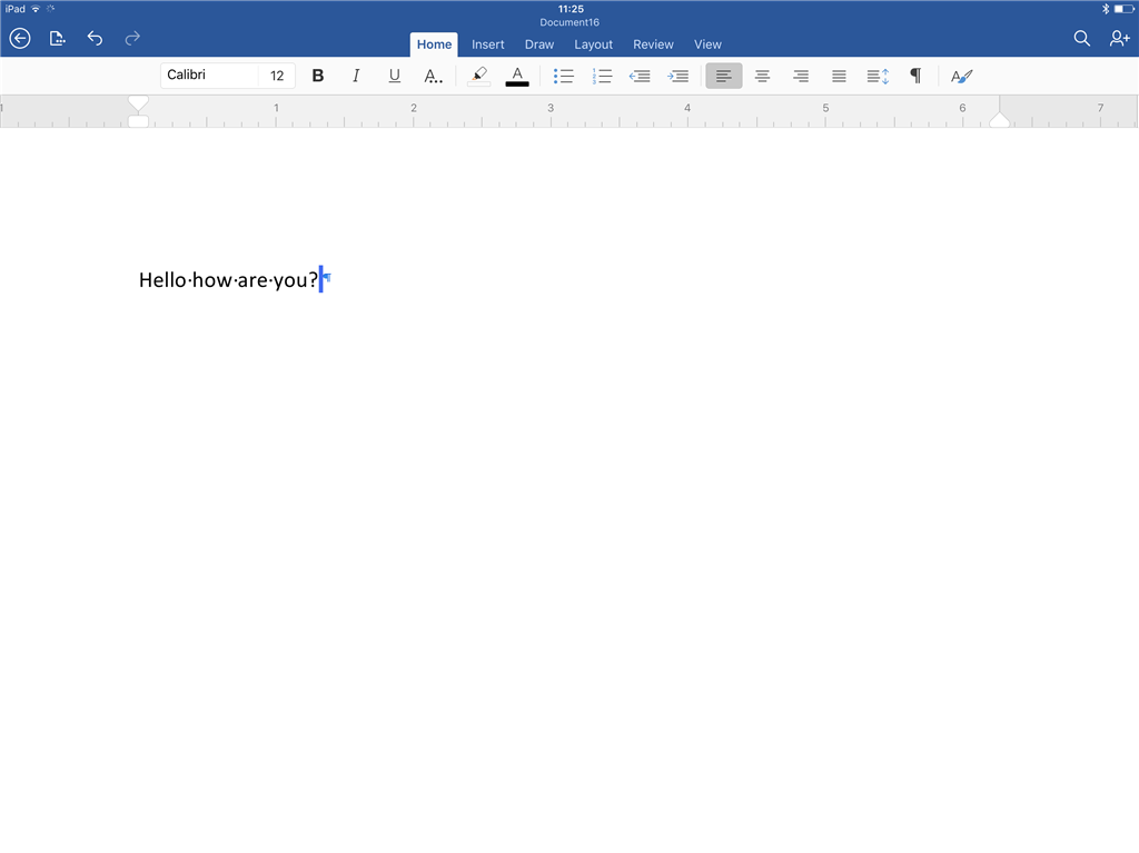 How To Hide Formatting On Word For Ipad Microsoft Community