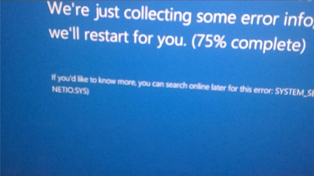 Windows 10 Blue Screen Reboots On ASUS GL552VW Laptop