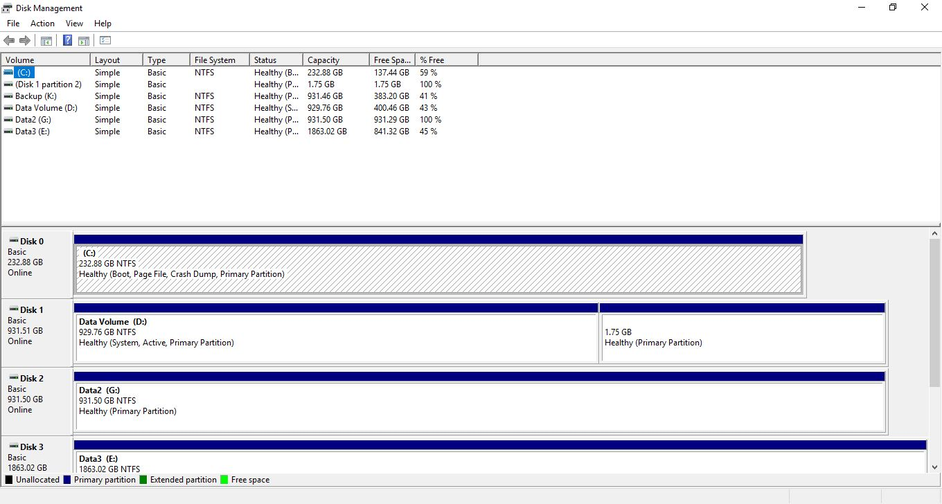 System Reserved partition is on my data drive - Microsoft Community