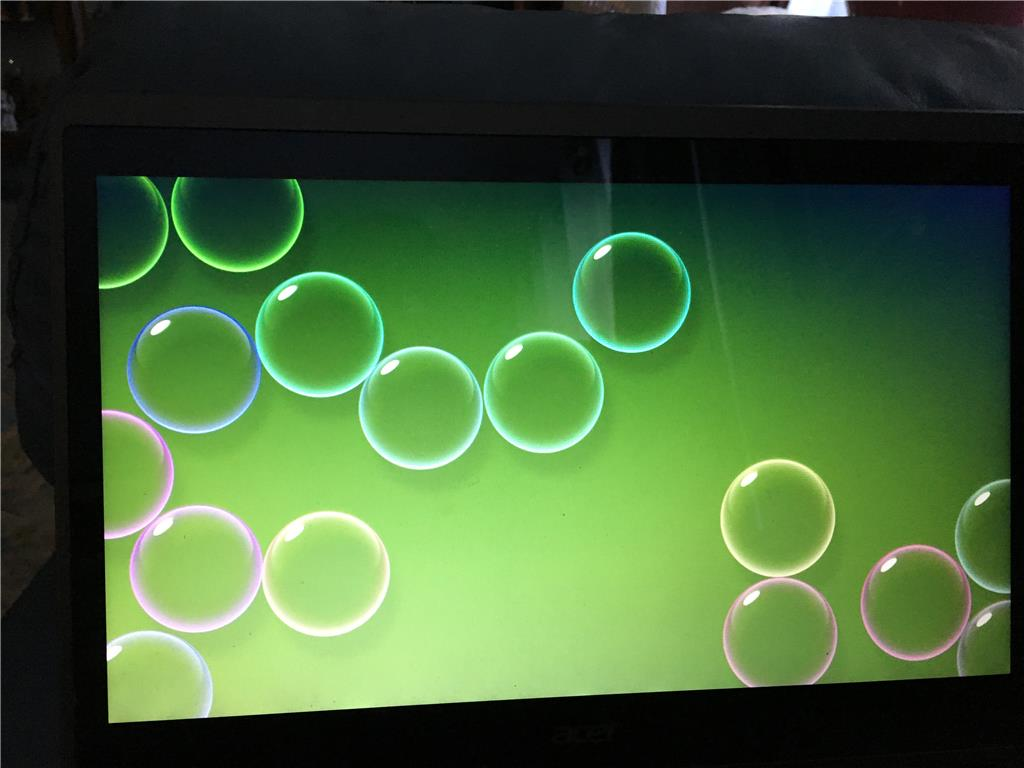 Bubbles Screensaver Black Background: Bubble Screensaver Broken After Last Update